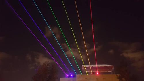 UNITED LASER HIGH POWER OUTDOOR LASERS