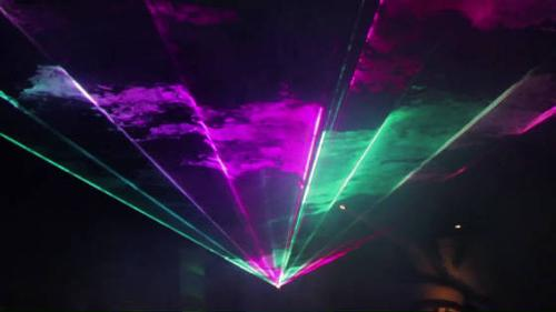 outdoor RGB LASER BY UNITED LASER
